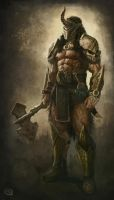 Barbarian concept. by Rob-Joseph