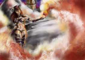 Alextraza - Flame of Life by AngryEnote
