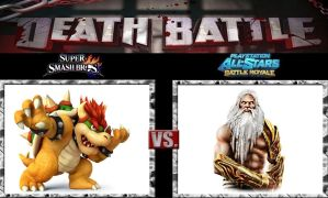 Death Battle Bowser vs Zeus by Werewolf-Hero