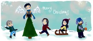 have a SPN Christmas by marixon