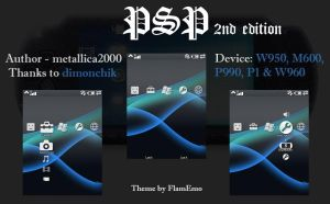 PSP 2nd Edition GDesk Design by metallica2000