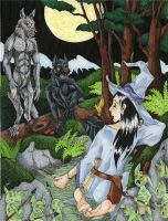 Lycanthropy is a Word That Rhymes with Witch by Allison-beriyani