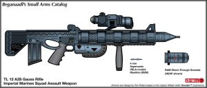 Gauss Rifle Concept by Drell-7
