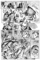 Cage Shared With Spiders pg 1 by deankotz