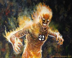 The Human Torch by Bonniemarie