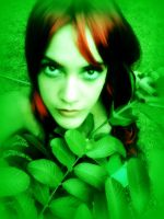 Poison Ivy in Green by BluePandora09