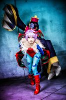 Darkstalkers - Hsien-Ko and Lilith by KanekoCosplay