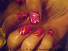 Panty Nailart by Kythana