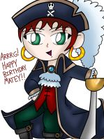 Pirate Birthday!!! by lawliet29