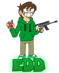 EDDSWORLD - Edd by ENEKOcartoons