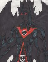 Black Lantern Batman Beyond by ChahlesXavier