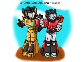 Lambo Bros Colored by Laserbot