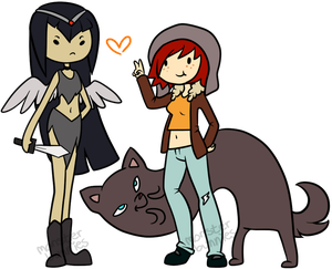 Adventure Time ocs by SecretMonsters
