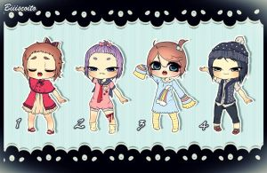 .: Chibi Cuties 2nd Batch {Closed!}:. by Biiiscoito