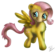 My Little... Monkey Fluttershy? by AssasinMonkey