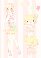 Flower Girl Adoptable + refsheet [CLOSED] by Yoai