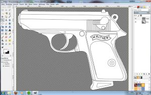 Walther PPK by InsaneSamantha