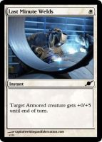 Last Minute Welds by starcraftmtg