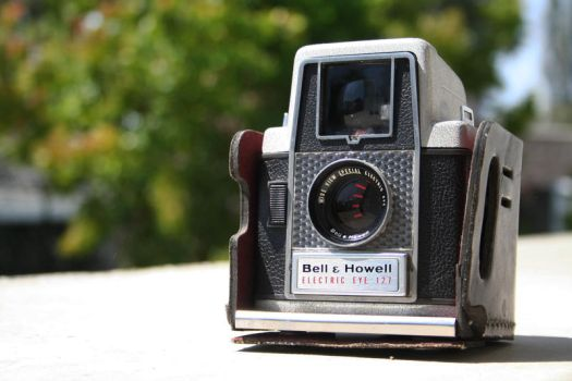 Bell andHowell Electric Eye127 by XxmagoxX