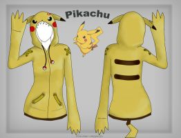 angry pikachu hoodie by Stalaxy