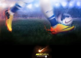 Nike Mercurial Artwork ~Eden Hazard by Ergen-Art