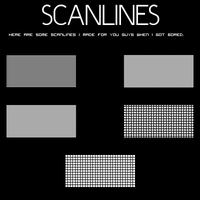 Scanline pattern set by mushir