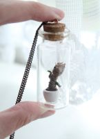 Baby Groot in a Bottle by ChroniclesOfKate
