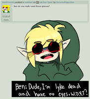 Ask BEN/Ben #79 by DrownedOpposites