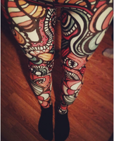 Get in to the Groove - Leggings by Lydia-distracted