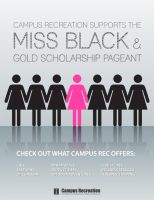 Scholarship Pageant Ad by mossawi
