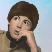 Paul McCartney by hellorickman