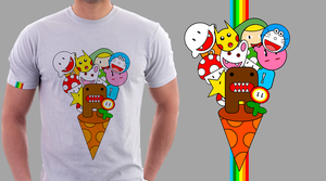 Domo-Kun Party T-Shirt by K0van