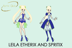Concept Art #3: Etherix and Spritix by Akato-Sama
