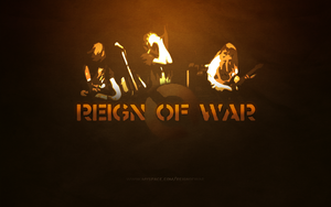 Reign of War promotional ad by exitspree