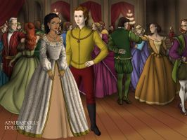 Pocahontas and John Rolfe by TFfan234
