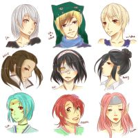 Headshots Request 19/11/14 by Unko-to