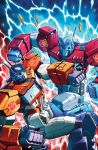 TF Dark Cybertron #9 cover colors by khaamar