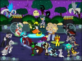 Gift: Nightmare Night fest by AquaAngel1010