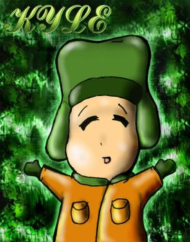 Kyle: Portrait of a jew by RIP-Kenny-McCormick