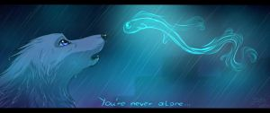 You're never alone by Satoga