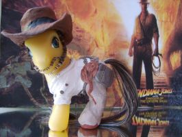 Indiana Jones Custom MLP by bambikate