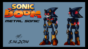 3Sonic Boom Metal by TheCiemgeCorner