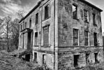 B/W Country House by BusterBrownBB