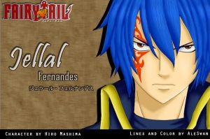 Fairy Tail Jellal by AleSwan
