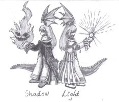 Shadow and Light by phoenixn91
