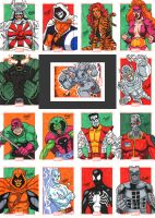 Marvel 75th - Part 11 by SeanRM