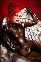 Royal Latex Girl by THETERRORCAT