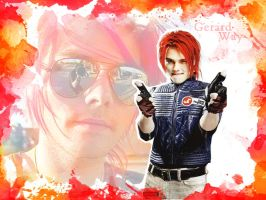 Gerard Way Wallpaper by EpiclyAlice
