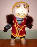 Cullen Rutherford Plushie by ThePrettyNerdie