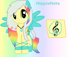 MLP +OC+ HippieNote by WindDuster